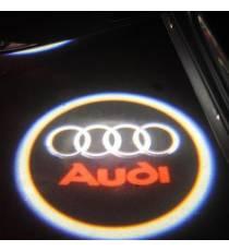 Set proiectoare / Logo portiere AUDI