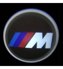Set proiectoare / Logo portiere BMW M Power