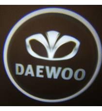 Set proiectoare / Logo portiere DAEWOO