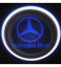 Set proiectoare / Logo portiere Mercedes Benz