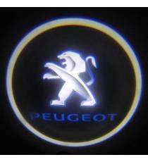Set proiectoare / Logo portiere Peugeot