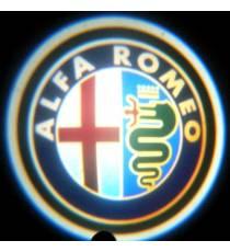 Set proiectoare / Logo portiere Alfa Romeo