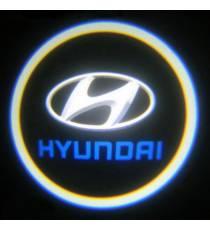 Set proiectoare / Logo portiere Hyundai