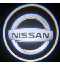 Set proiectoare / Logo portiere NISSAN
