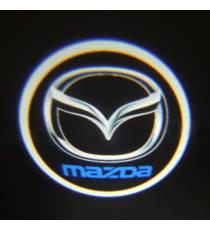 Set proiectoare / Logo portiere mazda