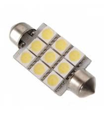 LED C5W 9 SMD 5050